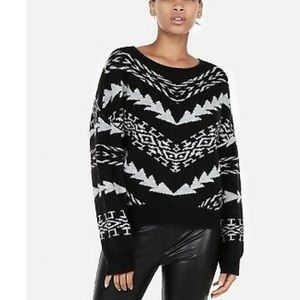 Express Tribal Sweater NWT